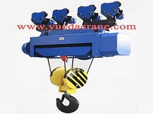 HC/HM model wire rope electric hoist