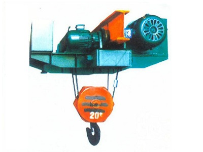 Monorail low headroom electric hoist