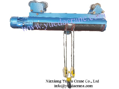 Monorail heavy duty electric hoist